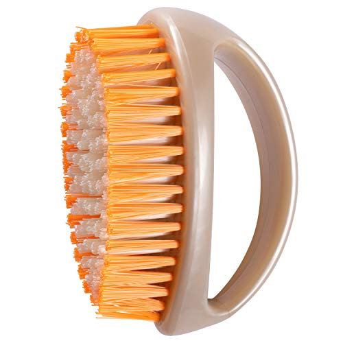 Fuller Brush Super Scrubby Scrub Brush - All Purpose Cleaning Scrubber w/ Looped Handle For Scrubbing Vegetables, Laundry, Shoes, Car & Tub - Deep Multi Surface Cleaning For Home & Business