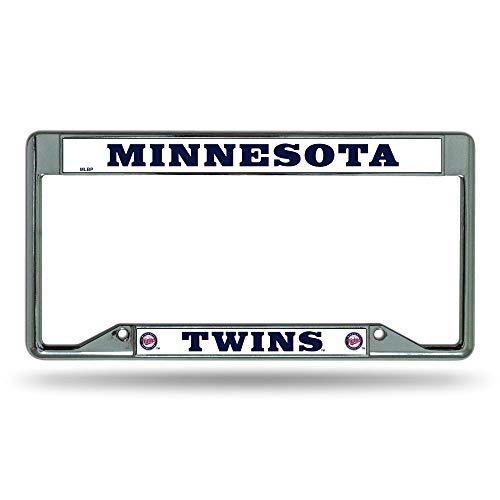 Minnesota Twins Inverted Chrome License Plate Frame