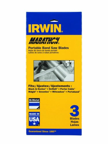 IRWIN Tools Portable Band Saw Blade, 44-7/8- by .020-inch, 24T, 3-Pack (3074003P3) by Irwin Tools