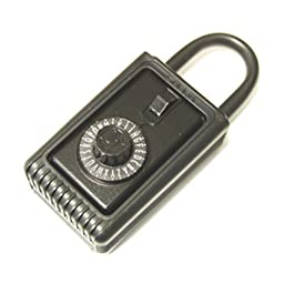 C3 Supra Portable Dial/Shackle Lockbox.