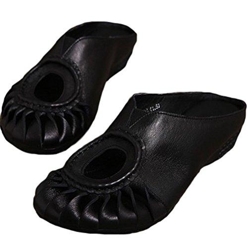 MatchLife - zapatos y pantuflas mujer Style1-Black