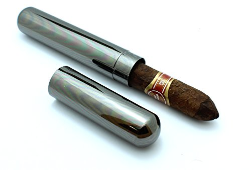 stainless-steel-cigar-tube-travel-case-slip-cap-gunmetal