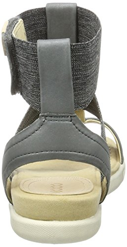 ECCO Ecco Damara Sandal - Sandalias Mujer Grau (50456DARK SHADOW/POWDER)