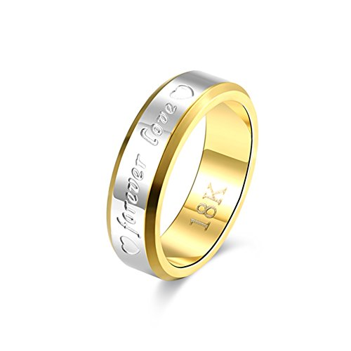 Smart Snacks Rainbow Color Cones (Men's Popular Wedding Rings Double Color Forever Love Stainless Steel - Brian P. Walker)
