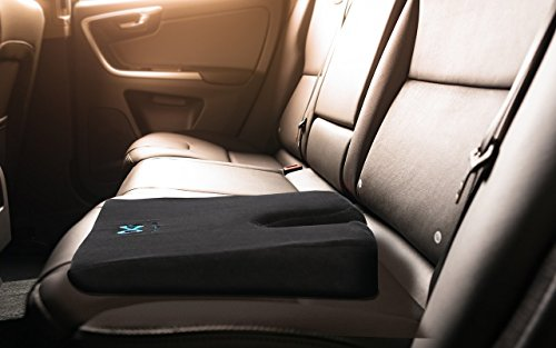 Everlasting Comfort 100 Pure Memory Foam Wedge Seat Cushion