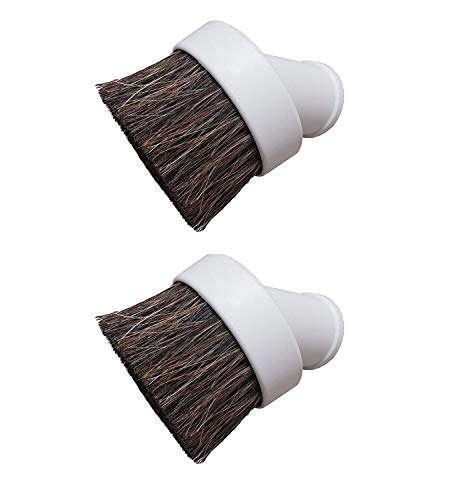 2 Deluxe Replacement Dusting Brushes (Shop Vac 1-25 Inch Hoses And Accessories)
