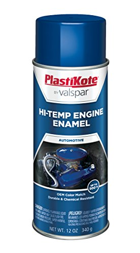PlastiKote 224 Ford Blue Engine Enamel, 12 oz. (Paint Blue Engine)