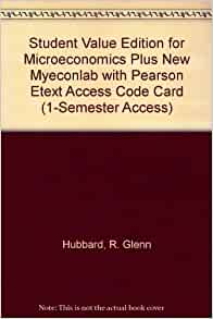 Foundations of Microeconomics Plus Myeconlab Plus eBook 1