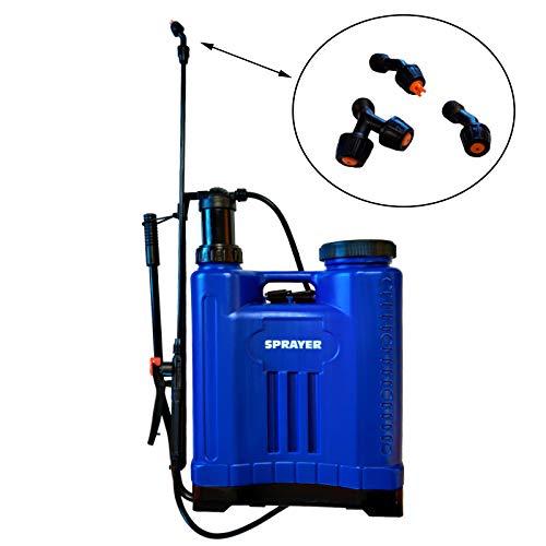 Pulverizador fumigador Tipo Mochila 16 litros: Amazon.es: Jardín