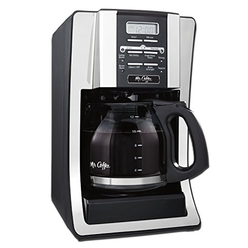 Mr Coffee 2X Mr. Coffee BVMC-SJX33GT 12-Cup Programmable ...
