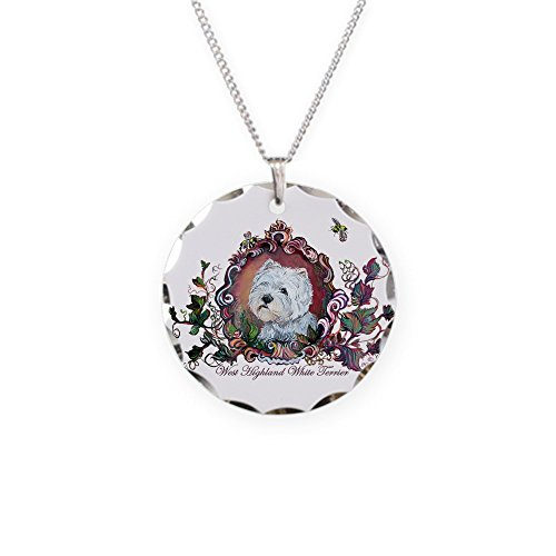 (CafePress - West Highland White Terrier - Charm Necklace with Round Pendant)