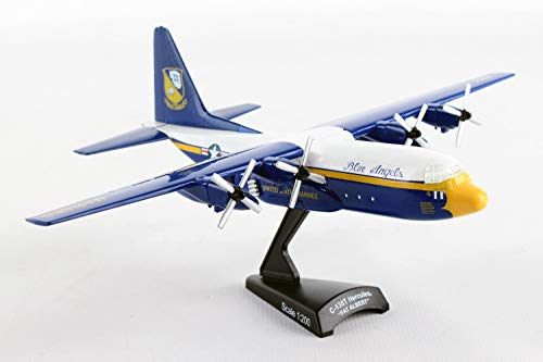 Postage Stamp C-130 Hercules Fat Albert Blue Angels 1/200