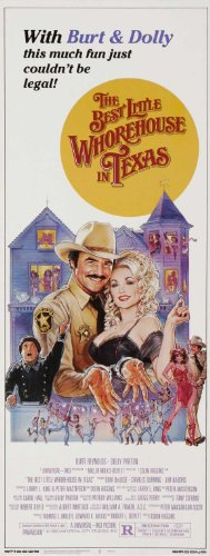 The Best Little Whorehouse in Texas Movie Poster (14 x 36 Inches - 36cm x 92cm) (1982) Insert -(Dolly Parton)(Burt Reynolds)(Dom DeLuise)(Charles Durning)(Jim Nabors)(Lois Nettleton)