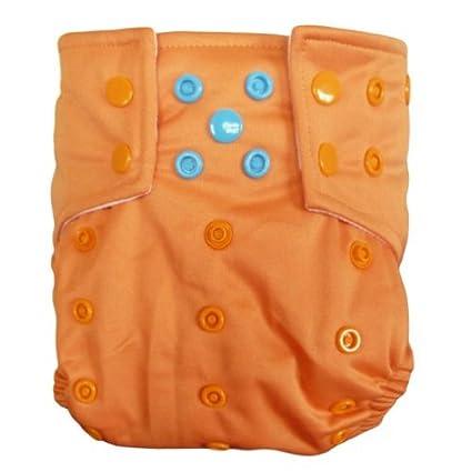 Alva bebé AI2 color Snap reutilizable lavable bolsillo pañales de tela pañal con 2 inserciones CB17