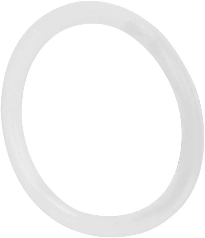 200Pcs Silicone O-Ring Water-Proof 0.87 x 0.08in White Sealing Gasket Washer