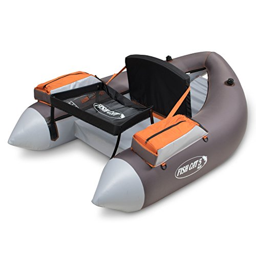 Outcast Fish Cat 5 Max, Gray (200-000150) (Outcast Fish Cat 4 Deluxe Float Tube)