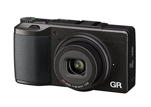 Ricoh GR II Digital Camera with 3-Inch LCD (Black) (Certified Refurbished)
