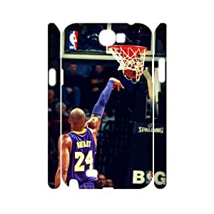 Customized 3D Cover Case for Samsung Galaxy Note 2 N7100 (Kobe Bryant CCW-56780)