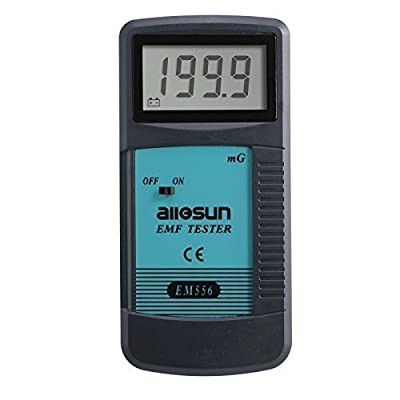 all-sun Digital EMF Meter Electromagnetic Radiation Detector Dosimeter