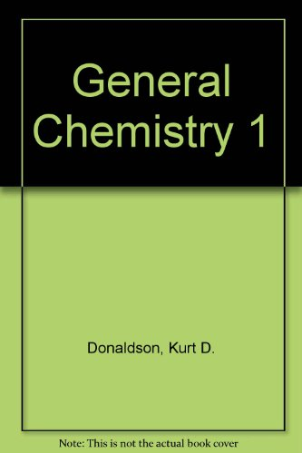 General Chemistry I: Lecture Notes and Workbook