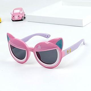 Occhiali Da Sole Rotondi Per Bambini Occhiali Da Sole Polarizzati Dei Bambini Degli Occhiali Da Sole Della Protezione Delle Ragazze Dei Bambini Degli Occhiali Da Sole Morbidi Comodi Del Bambino Svegli