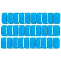 Noblik 60PCS EMS Gel Pad Elektroden Gel Reservepad, EMS Absorzegelpad, accessoires voor buikspiertrainer