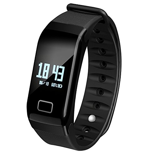 Fitness Tracker Band Smart Bracelet with Oxygen Blood Pressure/Heart Rate/Sleep Monitor Bluetooth Waterproof Sports Activity Tracker with OLED Touch Screen for Android and iOS – DiZiSports Store