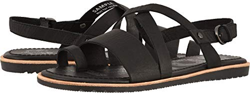 Little Cross - Sorel Womens Ella Criss Cross Sandal Open Toe Cut Out Shoes Slingback - Black - 8