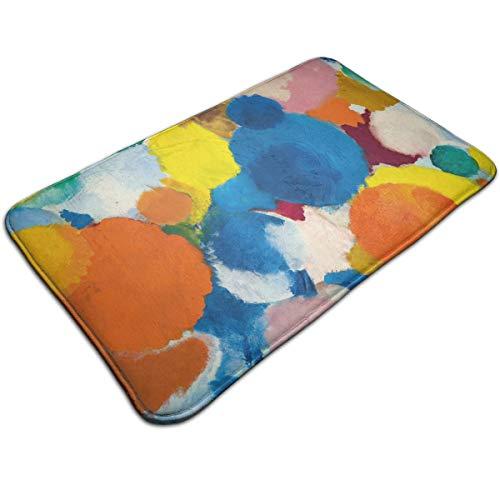 CYISOK Bath Mats Non-Slip Mats Ernst Wilhelm NAY Irisches Gedicht Doormats Super Absorbent Indoor/Outdoor Uses 19.5