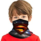 JIASHWULA Super-Man Face Bandana for Kids