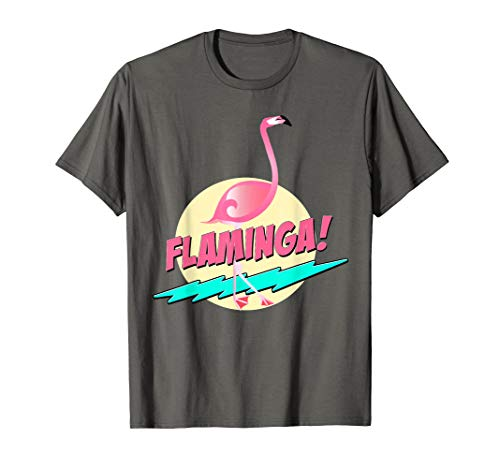 Flaminga! I Tropical Gift Ideas Shirt I Female Nerd Costume]()