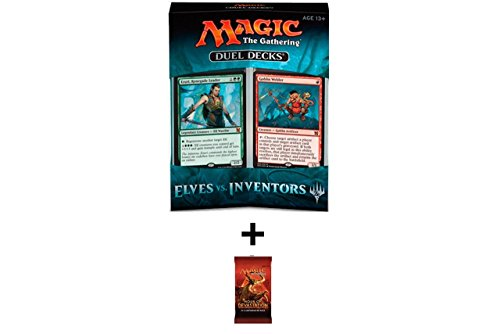 Magic the Gathering Duel Decks: Elves Vs Inventors Plus One Bonus Hour of Devastation Booster Pack