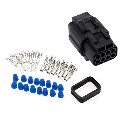 1 Set 8 Pin Way Waterproof Electrical Connector Professional Wire Connector Plug Terminal Kit for Car: