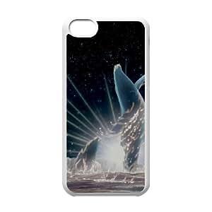 iPhone 5c Cell Phone Case-White Fantasia 2000 Phone Case Cover Design Plastic XPDSUNTR12457