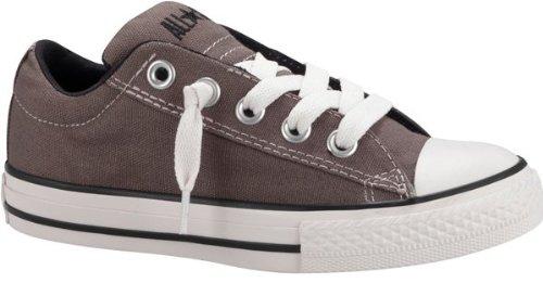 th Chuck Taylor Street Slip On - Charcoal - 1.5 YTH (Converse Boys Shoes)