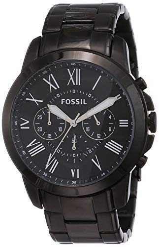 Fossil Chronograph Black Men Watch FS4832