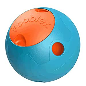 The The Foobler Timed, Self Reloading Puzzle Feeder ball toy for Dogs and Helps with Separation Anxiety