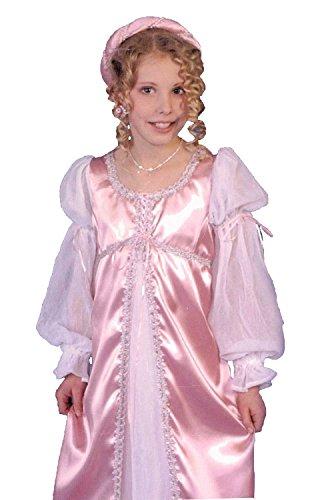 [CHILD Small 5-6 Avalon Princess Costume Dress] (Pink Renaissance Dress)