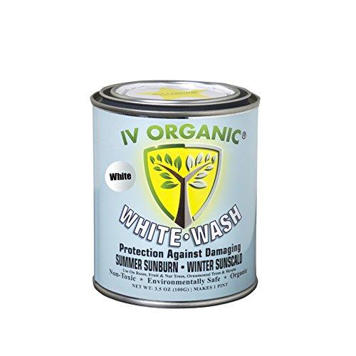 (IV Organic White Wash Plant Guard, 1 Pint)