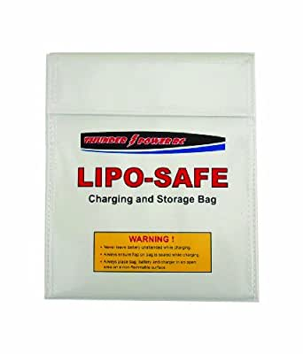 LiPo Safe Charging & Storage Bag; size Large 9.5 x 13 inches