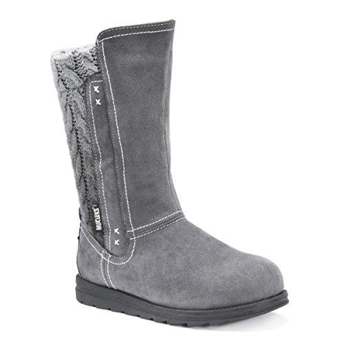 MUK LUKS Women's Stacy Boots Fashion Grey