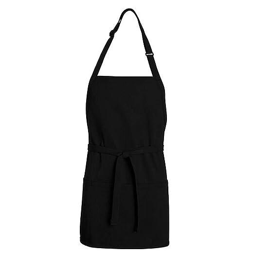 amazon com chef designs tt32 short premium bib apron black one size rh amazon com