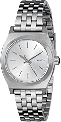 Nixon Women's Small Time Teller Stainless Steel Watch