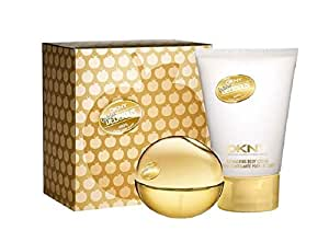 Dkny Golden Delicious 2pc Set 1.0 Oz Edp Spray and 3.4 Ozs Shimmering Body Lotion