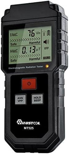 campo elettrico e campo magnetico Tester per radiazioni elettromagnetiche Tools MUSTOOL MT525
