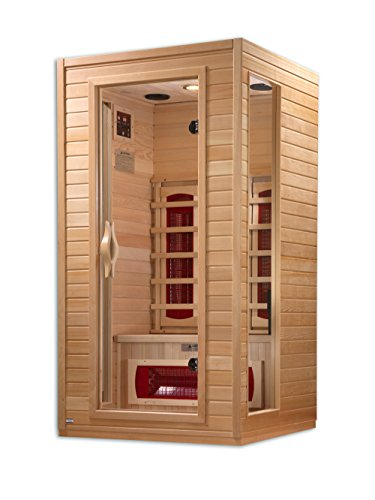 DYNAMIC SAUNAS AMZ-DYN-9101-01 Alicante 1 to 2-Person Far Infrared Sauna