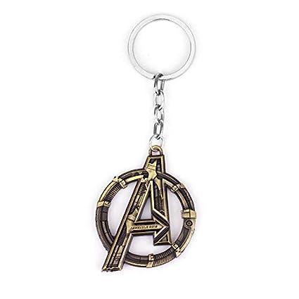 Llavero con el Logo de los Vengadores de Marvel, superhéroe ...