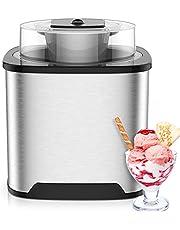 Ice Cream Maker Electric Ice Cream Machine 2 QT Ice Cream Maker Machine Homemade Gelato Sorbet Frozen Yogurt Machine
