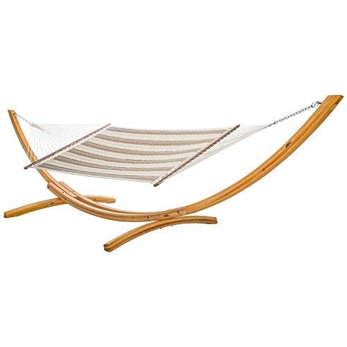Hatteras Hammocks Sunbrella Large Quilted Hammock - Regency Sand