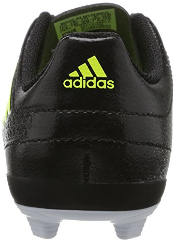 adidas Unisex-Kinder Ace 17.4 FxG Stiefel Gelb (Footwear White/Solar Yellow/Core Black)